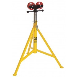 "Sumner - 780400 - Roller Head Pipe Stand, 24"" Pipe Capacity, 32"" to 52"" Overall Height, 2500 lb. Load Capacity"