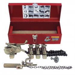 Sumner - 780999 - Sumner ST-210 Clamp Champ Pipe Alignment And Clamping Tool Kit (Includes Metal Carrying Box, Main Block And Chain, (3) Jack Bars And Instruction Manual), ( Each )