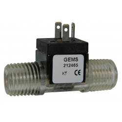 Gems Sensors - 19H256 - Turbine Flow Rate Sensor, 83, 200 Pulses per Gallon