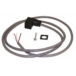 Gems Sensors - 19H257 - DIN Connector With Cable and Pull-up Resistor