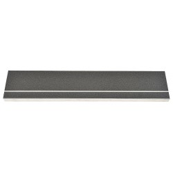 Bold Step / Sure Foot - 407NT20036110 - Black with Black Front, Aluminum Stair Tread Cover, Installation Method: Fasteners, Beveled Edge Typ