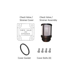 Fill-Rite - KIT300SG - Fill-Rite KIT300SG Replacement Check Valve, Strainer, Cover Assembly Kit
