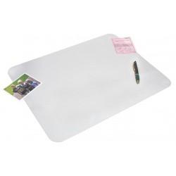 Artistic - AOP60240MS - Desk Pad, Clear, PVC, 17 in. x 22 in. x 1mm
