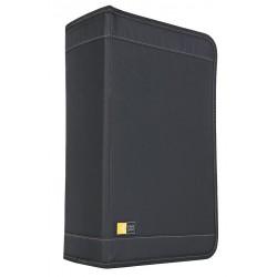 Case Logic - CLGCDW128T - 136-Capacity CD/DVD Wallet, Black, 1 EA