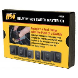 Innovative Products of America (IPA) - 9038 - Fuel Pump Relay Bypas Master Kit