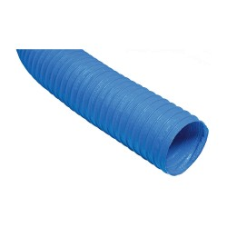 Hi Tech Duravent - 2PV BLUE 4' X 25' - 25 ft. Vinyl/Laminate Industrial Ducting Hose with 3.4 Bend Radius, Blue