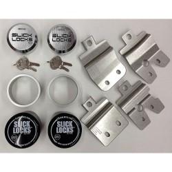 Slick Locks - GM-FVK-1-TK - GM Van Complete Exterior Door Lock Kit