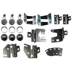 Slick Locks - FD-FVK-SLIDE-TK - Ford Van Complete Exterior Door Lock Kit