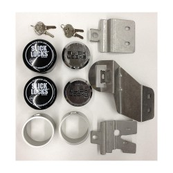 Slick Locks - GM-FVK-SLIDE-TK - GM Van Complete Exterior Door Lock Kit