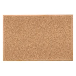 Ghent - 14181 - Ghent 1418-1 Bulletin Board - 18 Height x 24 Width - Tan Cork Surface - Self-healing, Laminated - Wood Frame - 1 Each
