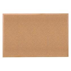 Ghent - 14231 - Ghent 1423-1 Bulletin Board - 36 Width - Tan Cork Surface - Self-healing, Laminated - Wood Frame - 1 Each