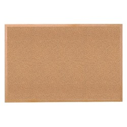 Ghent - 14341 - Ghent 1434-1 Bulletin Board - 36 Height x 48 Width - Tan Cork Surface - Self-healing, Laminated - Wood Frame - 1 Each