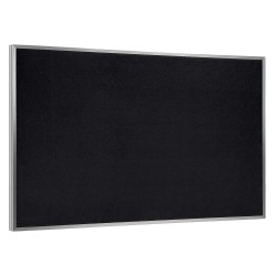 Ghent - ATR23-BK - Bulletin Board, Recycled Rbbr, Blk, Indoors