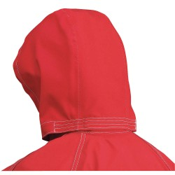 Ansell-Edmont - 66-664 - Ansell 66664 8083 3 Piece Hood Red No Fr