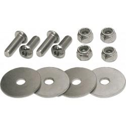 Snap-Loc - SLCFASDS1 - 5/16-18 x 1, Button, Socket Head Cap Screw, Alloy Steel, Steel, Zinc Plated Finish, 1EA