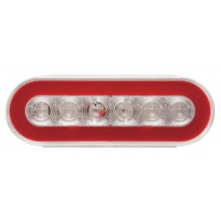 Optronics - STL111RCBPG - Stop-Turn-Tail Lamp, Red, Oval
