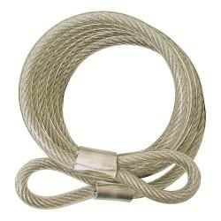 ABUS - 210/185 KA - Steel Steel Cable, 6' x 3/8