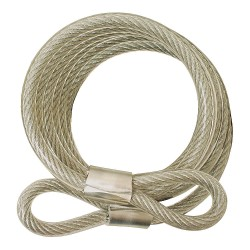 ABUS - 210/185 COMBO - Steel Steel Cable, 6' x 3/8
