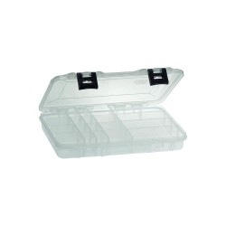 Plano Molding - 2365002 - Compartment Box, Clear, 1-3/4H x 7-1/4L x 11W, 1EA