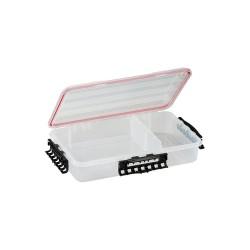 Plano Molding - 374110 - Compartment Box, Clear, 2-7/8H x 9L x 14W, 1EA