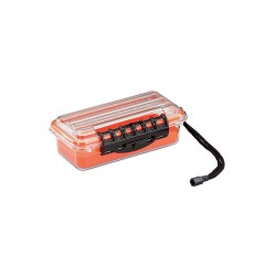 Plano Molding - 145000 - Plano Molding Guide Carrying Case for Electronic Equipment - Clear - Water Proof - Polycarbonate - 3 Height x 9 Width x 4.9 Depth