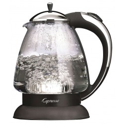 Capresso - 259.03 - 48 oz. Cordless Electric Kettle, Black