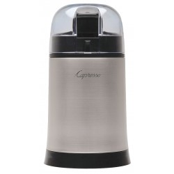 Capresso - 505.05 - Coffee and Spice Grinder, Single, 0.22 lb., Silver, Plastic