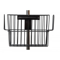 BOMImed - R105P17 - Stainless Steel Basket, Black