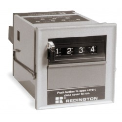 Redington - B2-5804-115AC - Predetermining Electromechanical Counter, Panel Mounting, Number of Digits: 4, Max. Counts per Secon