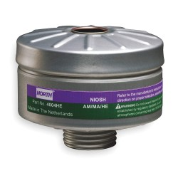North Safety / Honeywell - 4004HE - CARTRIDGE AMMNIA/METHLAMNE PK3 (Pack of 3)