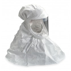 3M - BE-10L-3 - Respirator Powered Air-purifying Respirator Hood Be/airmate 10 3m Large Tyvek Qc, Ea