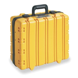 Klein Tools - 33537 - Insulated Tool Case, Yellow Vinyl, 15-3/8 Height, 18-7/8 Width, 8-1/4 Depth