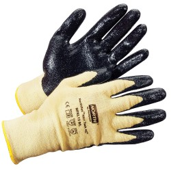 North Safety / Honeywell - NFKL13/10XL - Coated Gloves, Yellow/Black, XL, PR