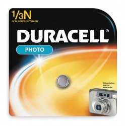Duracell - DL1/3NBPK - Lithium Button Cell Battery, Voltage 3, Battery Size 1/3 N, 1 EA
