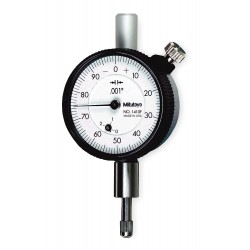 "Mitutoyo - 1410S - Continuous Reading Dial Indicator, AGD 1, 1.570"" Dial Size, 0 to 0.250"" Range"