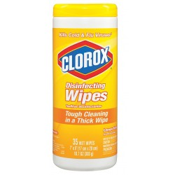 Clorox - 01594 - Clorox Disinfecting Wipes Lemo (case Of 12)