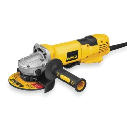 "Dewalt - D28144N - Dewalt 13 Amp 9000 RPM 5"" - 6"" Heavy Duty High Performance Small Angle Cut-Off Grinder With No-Lock-On Paddle Switch, Dust Ejection System, Tool-Free Flange System, E-Clutch/Overload Protection And Quick-Change Wheel Release"