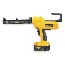 Dewalt - DC545K - Cordless Caulk Gun Kit, 18.0VDC, 10 oz cap