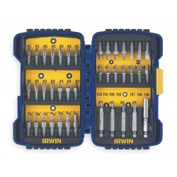IRWIN Industrial Tool - 3057018 - Fastener Drive Set, Size 1/4 In, 40 Pc