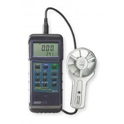 Extech Instruments - 407113 - Extech 407113 Heavy-Duty CFM Metal Vane Thermoanemometer