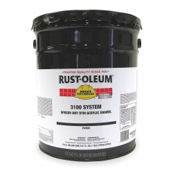 Rust-Oleum - 3181300 - Interior/Exterior Primer with 385 to 790 sq. ft./gal. Coverage, Gloss Gray, 5 gal.