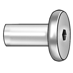 Other - 1CJV7 - Connector Nut, 1/4-20, Gr 2, ST, PK10