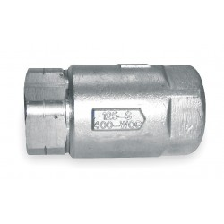 Apollo Valves - 6210101 - 1/4 Ball Cone Spring Check Valve, Stainless Steel, FNPT Connection Type