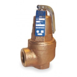 Apollo Valves - 1060434 - Bronze Safety Relief Valve, FNPT Inlet Type, FNPT Outlet Type