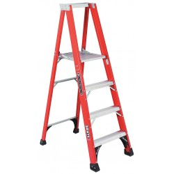 "Louisville Ladder - FP1404HD - Fiberglass Platform Stepladder, 3 ft. 10"" Platform Height, 15"" Platform Width"