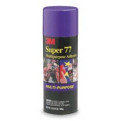 3M - SUPER 77 - Scotch Super 77 Multi-Purpose Adhesive Spray - 4.37 oz - 1 Each - Clear