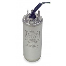 Franklin Electric - 2145049004S - 1/2 HP Deep Well Submersible Pump Motor, Capacitor-Start, 3450 Nameplate RPM, 115 Voltage