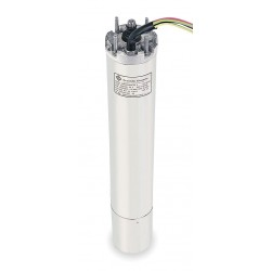 Franklin Electric - 2343078602 - 5 HP Deep Well Submersible Pump Motor, 3-Phase, 3450 Nameplate RPM, 200 Voltage