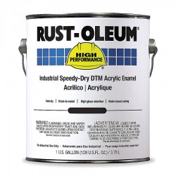 Rust-Oleum - 3144402 - High Gloss Safety Yellow Interior/Exterior Paint, 1 gal.