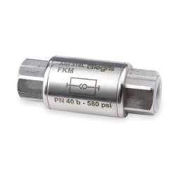 Legris - 4895 22 22 - 1/2 Check Valve, 316L Stainless Steel, FNPT Connection Type